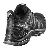 Salomon Herren XA Pro 3D GTX Trailrunning-Schuhe, Schwarz (Black/Black/Magnet), Gr. 45 1/3 - 2