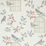 iLiv canción pájaros papel pintado, Eau de Nil