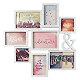 Best Collage Photo Frames - Invero® Quirky 8 Picture Collage Photo Frame ideal Review