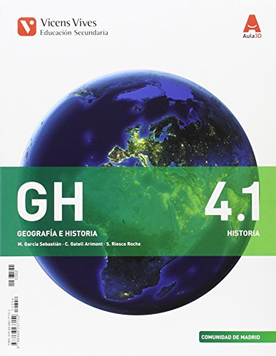 GH 4, Geografía e historia, Educación Secundaria, Comunidad de Madrid Historia
