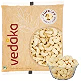 Amazon Brand - Vedaka Whole Cashews, (500g)