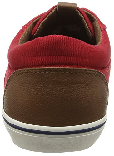 JACK & JONES - Jjvision Mixed, Sneaker Uomo Rouge (Barbados Cherry)
