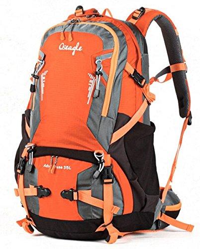 Cinny multifunktionalen Rucksäcke outdoor Wanderrucksack Wanderrucksack Tasche Travel Tasche nylon Orange