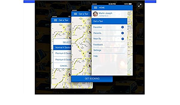 Readymade Taxi App: Amazon in: Software