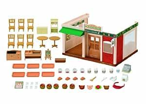 Sylvanian Families Fast Food et Drive /hamburger restaurant