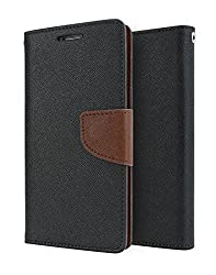 Classico Universal Luxury Mercury Wallet Card Dairy Slot Style Flip Cover Compatible For Acer Liquid
