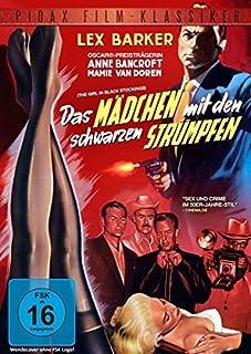 Das Mädchen mit den schwarzen Strümpfen (The Girl in Black Stockings) - Thriller mit Lex Barker und Anne Bancroft (Pidax Film-K