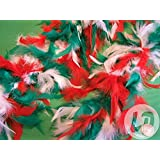 Lot / Set von 6 Stück - Boa 50gr 1,50 m, grün, rot und weiß Italien
