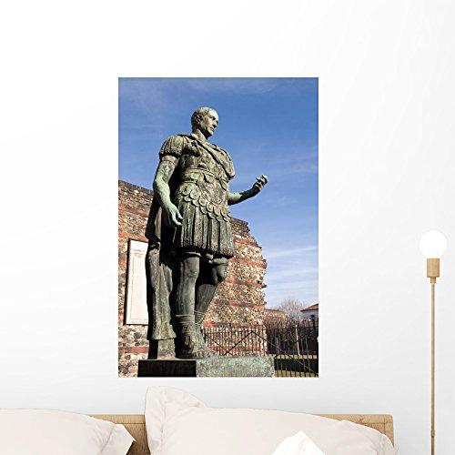Statue Julius Caesar Turin Wall Mural von wallmonkeys Abziehen und Aufkleben Graphic (24in H x 16in w) wm296910 (Caesar Statue Julius Von)