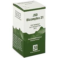 Jso Bicomplex Heilmittel Nummer 21 150 stk preisvergleich bei billige-tabletten.eu