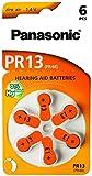 Panasonic 1765 Hörgerätebatterien Zinc-Air PR13