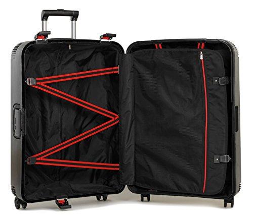 Rock ,  Koffer Schwarz schwarz Set of 3 schwarz