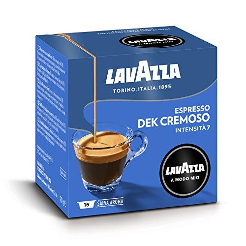 Lavazza A Modo Mio Capsule Caffè Espresso Dek Cremoso - Confezione da 256 Capsule