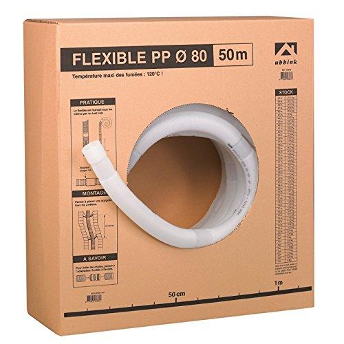 Conduit PPTL condensation diamètre 60 longueur 50m flexible 330478