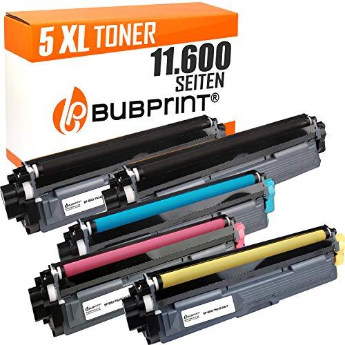Bubprint 5 Toner kompatibel für Brother TN-242 TN-246 HL-3142CW MFC-9142CDN MFC-9332CDW DCP-9022CDW HL-3172CDW MFC-9342CDW HL-3152CDW DCP-9017CDWG1 -