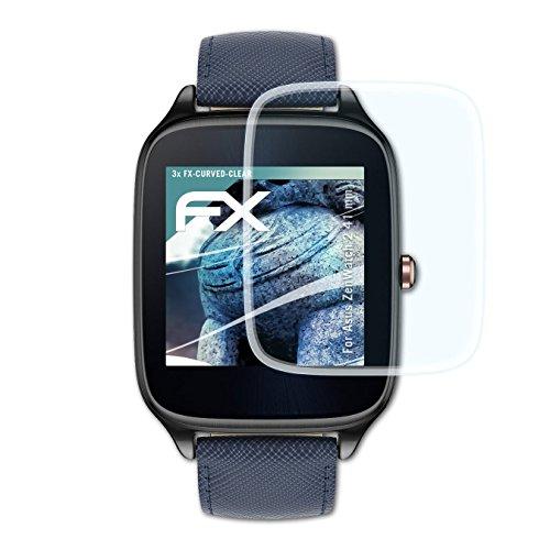 asus-zenwatch-2-41-mm-pellicola-proteggi-3-x-atfolix-fx-curved-clear-flessibile-pellicola-protettiva