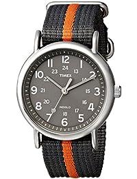 Timex T2N649D7 - Reloj analógico de cuarzo unisex con correa de nylon