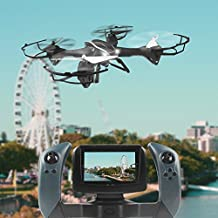 Udi U842-1 2.4G Lark FPV con la cámara de 2,0 MP HD RC Quadcopter en tiempo real FPV Transmisión (U818S y WIFI 818 de actualización)