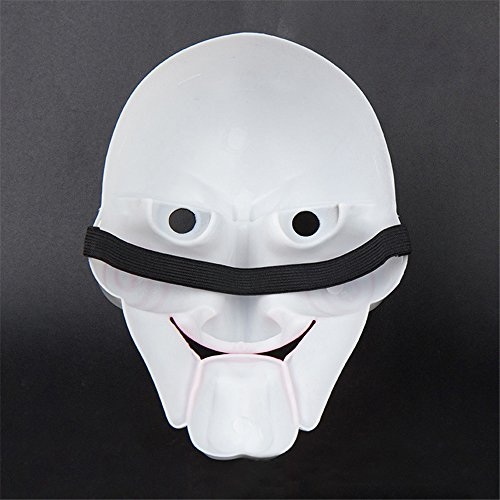 Kostüm Terror - QHJ Halloween Kostüm Party Maske Halloween Party Maske Cosplay Ekelhafte Gesichtsmaske Terror Maske Kopfmaske Helloween Kostüm Party (C)
