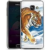 Samsung Galaxy A3 (2016) Housse Étui Protection Coque Neige Art