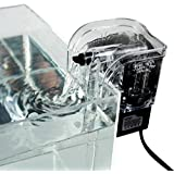 Malloom®220V 120L acuario biológica pecera caída de agua aferrarse delgado agua filtro