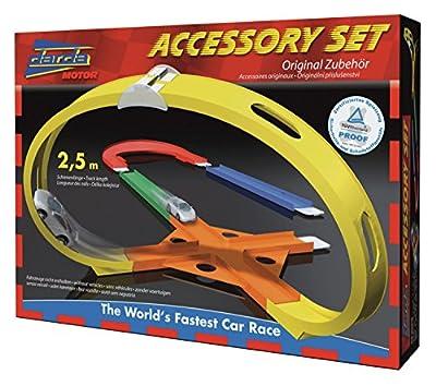 Darda 50450 - Ergänzungset inklusive Kreuzung, Looping, Straߟen und Verbinder von SIMM Spielwaren