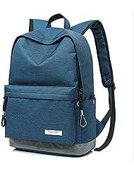Slim Laptop mochila ligera mochila libro escuela bolsas , blue