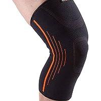 Moda Rodilla y el otoño de deportes de invierno de la rodilla de protección Ejecución de montar al aire libre del alpinismo de la rodilla (Tamaño Opcional) Equipo de protección deportiva ( Color : A , Tamaño : 43-47cm )