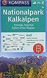 Nationalpark Kalkalpen, Ennstal, Steyrtal, Pyhrn-Priel-Region: 4in1 Wanderkarte 1:50000 mit Aktiv Guide und Detailkarten inklusive Karte zur offline ... Skitouren. (KOMPASS-Wanderkarten, Band 70) -
