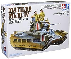 Tamiya 35300 - Maqueta para montar tanque Británico Matilda MKIII/IV Escala 1/35
