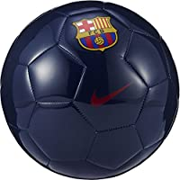 Nike Supporter'S Ball-FC Barcelona Balón, Unisex Adulto, Azul (Midnight Navy/Prime Red), 5