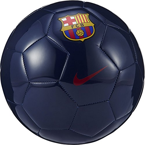 Nike Supporter'S Ball-Fc Barcelona Balón, Unisex adulto, Azul (Midnight Navy / Prime Red), 5
