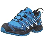 Salomon Kinder XA Pro 3D CSWP Trailrunning/Outdoor-Schuhe, Blau (Hawaiian Surf/Mykonos Blue/Navy Blazer), Gr. 37