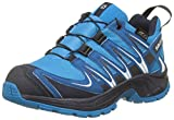 Salomon Kinder XA Pro 3D CSWP Trailrunning/Outdoor-Schuhe, Blau (Hawaiian Surf/Mykonos Blue/Navy Blazer), Gr. 35