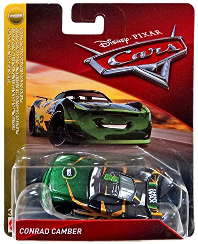 Disney Pixar Cars - Next Generation Piston Cup Series - Conrad Camber …