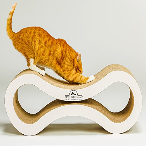 83ea16528 Pets Imperial® Stunning Pearled White Viscount Cat Scratcher Lounger (82cm  x 28cm x 28cm
