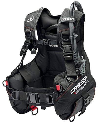 Cressi Sub S.p.A. Start Pro New B.C.'D Gilet de Stabilisation Mixte Adulte, Noir, XL