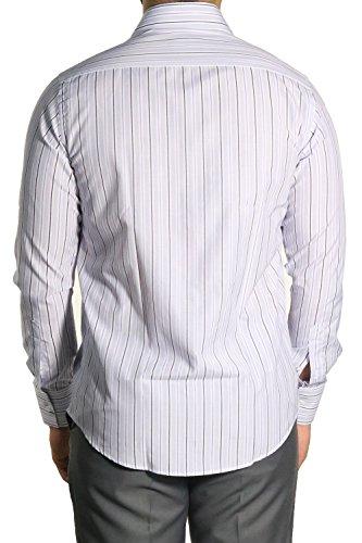 MUGA Homme Chemise à manches longues, cintrée Lilas