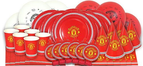 Manchester United Football Club Complete Party Box