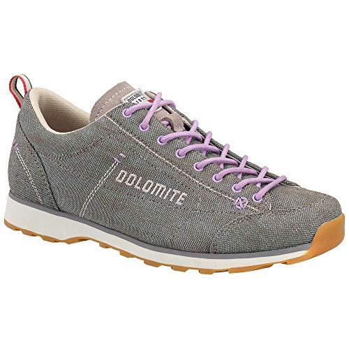 Dolomite Damen Zapato Schuh Cinquantaquattro LH Canvas WS, Gris/Violet Lila, 38 EU