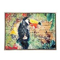 Vitale Doru Papağan Dekoratif Tablo
