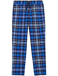 Joules Relaxwell Check Mens Lounge Trousers (V)