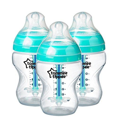 Tommee Tippee Advanced Anti-Colic Bottle 260ml 3Pk (Inviato da UK)