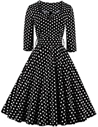 Valin M131818D Robe de bal Vintage pin-up 50's Rockabilly robe de soirée cocktail,S-XXXXL
