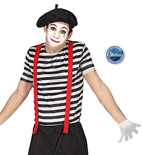 Kostüm Pantomime für Herren M / (Mime Kostüme)