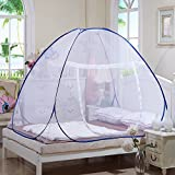 Mosquito Net Popup Dome Tent Design Suitable for Adults, Children and Babies, Protect Against Zika, Malaria and many other Viruses. Travellers, Hikers and Campers, Great For Indoor and Outdoor Use (Single Bed - 150cm x 150cm)