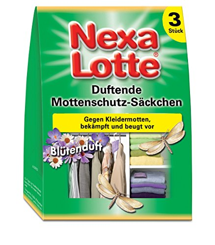 Scotts Nexa Lotte® Lot de 3 sachets de Protection Anti-Mites