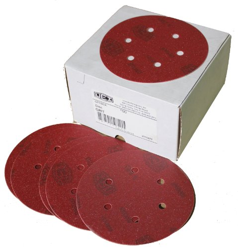 Inc M-131256 M-131256 5-Inch x No Hole NH No 400 Grit Ekablue Aluminum Oxide Paper Uneevel Hook and Loop Sanding Discs Uneeda Enterprizes
