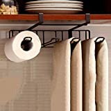 Rosseae Haken unter dem Regal, Six Hook, Hanging Keine Spur Gratis Nail Cabinet Hook Kitchen Cup Holder Ablaufregal Display Rack-A (Farbe : C)