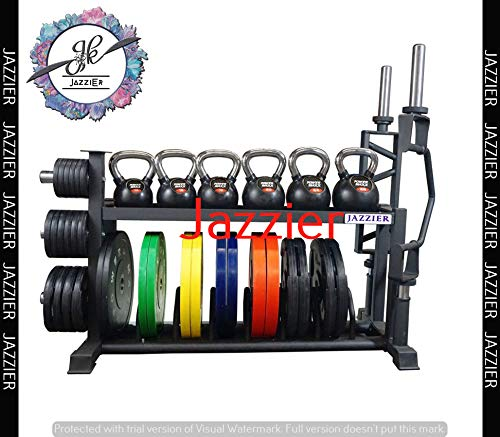 Jazzier Multi Weight Storage Rack (Without Dumbbells, Kettlebell, Gym Ball, and Much More) WR-04